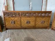 9 Drawer mid century modern dresser