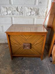 2 Drawer mid century modern night stand