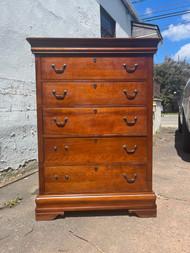 Broyhill cherry 5 drawer dresser