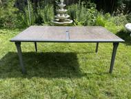 Gray 4 piece tile top table