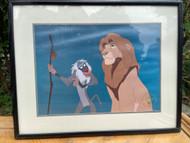 The Lion King 1995 Disney Store Exclusive Commemorative Lithograph