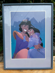 "Walt Disney's ""Aladdin"" Exclusive Commemorative Lithograph"