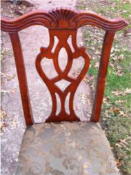 Pair of Tradition Cherry Side Chairs