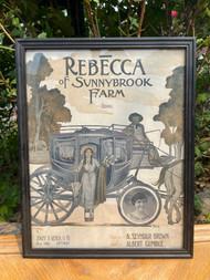 """Rebecca of Sunny Brook Farm"" framed print"