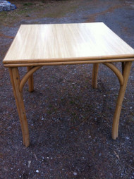 Square Bamboo Table