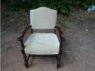 Antique Mahogany Arm Chair