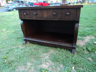 Antique Empire Style Bar/Server