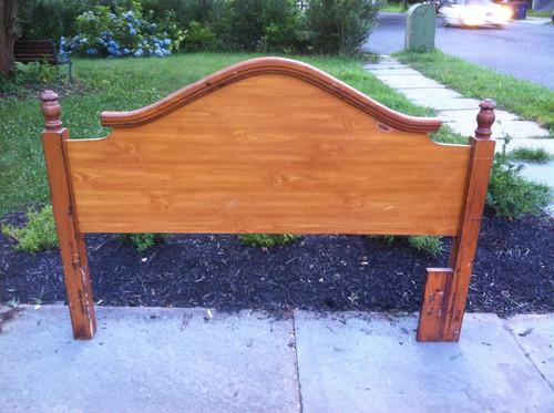 Queen Full Solid Maple Headboard Forgotten Furniture