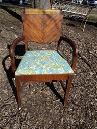 Antique Art Deco Arm Chair