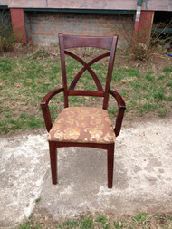 Cherry Arm and Side Chair