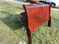 Full Size Cherry Sleigh Headboard