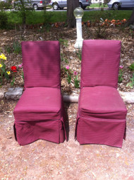 Pair of Parsons Chairs