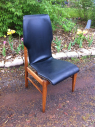 Mid Century Modern Bentwood Walnut Accent Chair