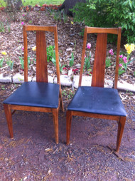 Pair of Vintage Side Chairs
