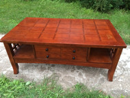 Mission Style Cherry Coffee Table