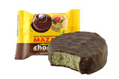 This Mexican peanut Candy is made of pure, creamy cacahuate biscuit, covered with the creamiest Mexican chocolate!