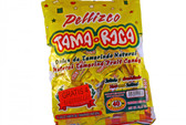 Hot and salted tamarind fruit candy, with real tamarind pulp.