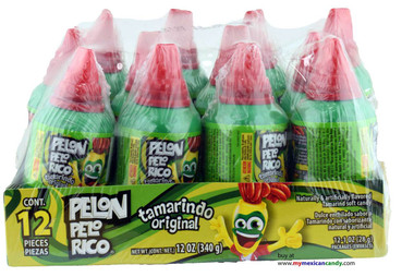 Pelon Pelo Rico Tamarind Candy also offers the creamiest texture of Mexican candy and will surely end melting inside your mouth. Just perfection!