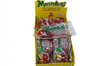 Marimbas are cherry flavored lollipops that are covered with a spicy and sour chili paste and have a delicious gum center. Marimbas are the ideal option to satisfy your sweet tooth. Try this delicious candy that gives you sweetness and spice all in one bite.