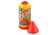 Yummy strawberry soft candy. This candy has the shape of a crayon and are very popular among kids. This is a ideal give away gift for all your kids parties.