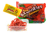 Watermelon flavored soft candy strips with hot tamarind sauce. It looks like spaghetti! But it taste better than spaghetti, its candy! They are a great treat for parties, trips, or a sweet afternoon snack for the kids! Each box comes with 12 individually wrapped packs of candy straws.
