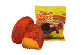 Hot mango jellies with chilli. These are addictive and completely amazing! If you like spicy food or candy, pick some up. You won't be disappointed.