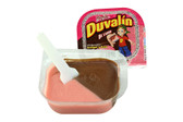 You will love the sweet strawberry and hazelnut flavors combined in a delightful blend that will make your mouth water! Duvalin is a delicious soft and creamy milk candy that comes in a small container with a small plastic spoon.