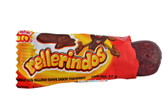Rellerindos Tamarind comes in the same shape as the tamarind fruit. Hard caramel candy with a soft & spicy cyrup in the center.