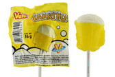 Vero Tarrito paleta is a beer shape lollipop, made by Dulces Vero .
