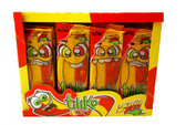 Zumba Tiliko Mix is a soft candy bar with the delicious mixture of Tamarind and Mango flavors, wich makes a perfect sweet and spicy candy!