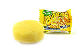 Adams Bubbaloo Platano is a delicious bubble gum with a banana flavor liquid center. Bubbaloo gum is soft and chewy bubble with long lasting flavor.