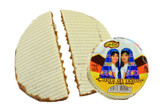 """Cabadas Cajeta are tasty wafers with goat's milk candy. This makes it a exquisite product of the Mexican's creativity.  It has a delicious classic flavor of the """"cajeta"""" with a crispy flour wafer that goes awesome together!"""