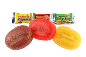 This bag contains delicious assorted hard candies filled with a rich tamarind pulp.