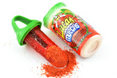 Lucas Muecas is a delicious watermelon flavored lollipop that you can deep in sweet and sour hot chili powder. Its size makes it compact, allowing you to take it anywhere you go.