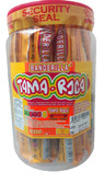 Banderilla Tama Roca is a stick with a delicious cover of flavors such as natural tamarind fruit, salt and chili. It has a soft texture and a touch of sweetness and is perfect on his own or with different snacks and drinks.