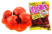 Hola Chamoy Chabacano Salado is a extremely delicious salted apricot fruit with a rich and spicy liquid chamoy sause companion. A tasty fruty snack for everyone!