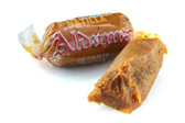 Aldama Natilla is a delightful goat milk candy. This candy has a creamy and little crunchy texture with a sweet and sugary flavor.