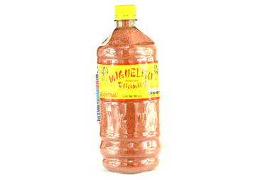 Miguelito is a really tasty powder with chamoy essence. With this delicious powder you can sprinkle your fruits and vegetables giving them a rich spicy flavor