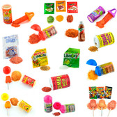Top Powder Mexican Candy is a box with 41 pieces of different powder candies. You can find Pica Limon, Lucas Muecas, Zumba Hot and Baby Lucas. This is the perfect amount of spicy powders that you can share with everyone.