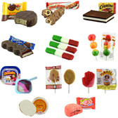 The Sweet Mexican Mix Candy Box brings some of the most delicious sweet candies of Mexico. You can find the delicious Mazapan with Chocolate covered, Cremino Chocolate, Coronado Paleta, Banderillas, Duvalin's, Cajeta wafers and much more.