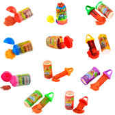 Lucas baby, Lucas Pelucas and Lucas Muecas are some of the tastiest Mexican candy powders. This candies come with different and delicious flavors such as chamoy, watermelon, mango, green apple and more.