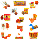Pack with a great variety of assorted candies with a sweet mango flavor and a touch of chili. This package comes with some of the most tasty and popular Mango candies such as Pulparindo, Bolitochas, Lucas Baby, Mango flavored lollipops and much more.