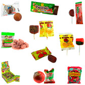Most popular and delicious Watermelon flavored candies. This box has a great variety of watermelon candies such as Pulparindo's, Lollipops, Pica Gomas and many more.