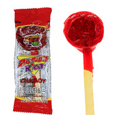 Zumba Pica is a hard caramel lollipop with a delicious chamoy flavor. This candy has a sweet and spicy taste and comes In a 12 piece package.