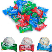 De la Rosa Air Mints is a Mexican bubble gum with a delicious mint, peppermint, and cinnamon flavor liquid center. It has a chewy texture and a fresh and sweet flavor.
