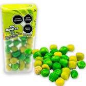 Pelon Pelonetes is a delicious candy that contains a package of savory candy balls with the delicious combination of salt and lemon on it.