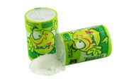 """Mexican Candy: Anahuac Limon 7 """"Salero"""" Salt And Lemon Powder shaker that you can enjoy it straight from the packets or add to fruit or beverages as seasoning."""