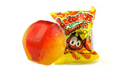 Locochas Mango is a Mango flavored hard candy with a perfect chili center. The candy is individually wrapped for freshness and it comes with a ball-shaped form, has the perfect sweetness and spiciness for every candy!