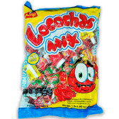 Mexican Candy: Beny Locochas Mix. : Real spicy candies! Locochas mix is a watermelon,mango,tamarind,chamoy,strawberry flavored hard candy with a perfect chili center.