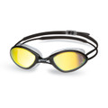 Head Tiger Race Mirrored Liquidskin Swimming Goggles Mirrored Black